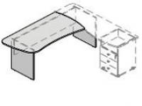 Стол G-118 R/L