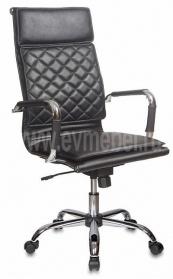 Кресло CH-991/Black черный Black искусственная кожа крестовина хром