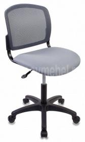 Кресло CH-1296NX/GREY спинка сетка темно-серый сиденье серый