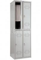 Шкафы для раздевалок - ПРАКТИК LS-22