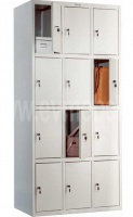 Шкафы для раздевалок - ПРАКТИК LS-34