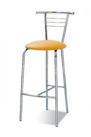 Барный стул Tina Hoker Chrome