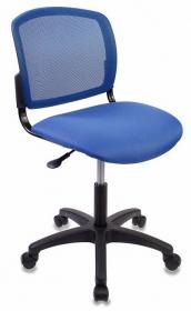 Кресло CH-1296NX/BLUE спинка сетка синий сиденье темно-синий