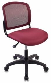 Кресло CH-1296NX/CHERRY спинка сетка темно-бордовый сиденье бордовый