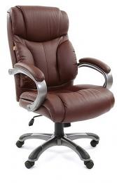Кресло CH-435, кожа коричневая