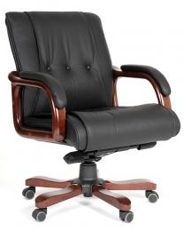 Кресло CH-653M кожа