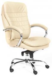 Кресло CH-795 кожа белая