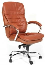 Кресло CH-795 кожа светло-коричневая